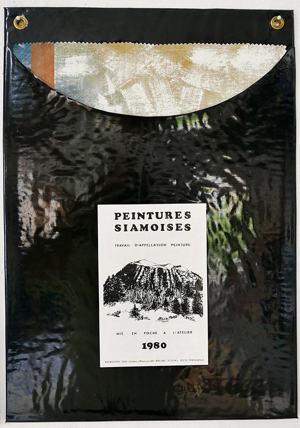 Peintures Siamoises, 54x38cm et 21x14cm, peinture acrylique