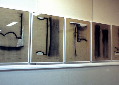 Résonance, (28), 65x50cm, 1994