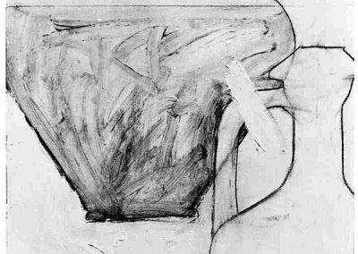 Mauvaise Rencontre, (56), 64x45cm, 1988