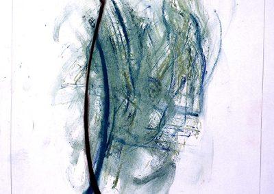 Kyrielle, (63), 64x45 cm, 1994