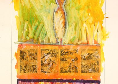 Wanted, (28), 105x75 cm, 1993
