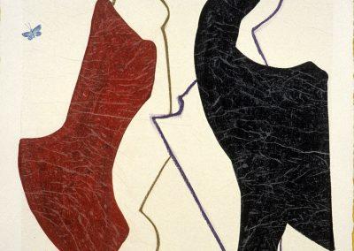 Resserre dessin, (35), 57x57 cm, 2003