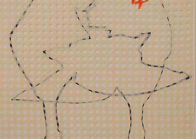 Claustra, (28), 70x50cm, 2007