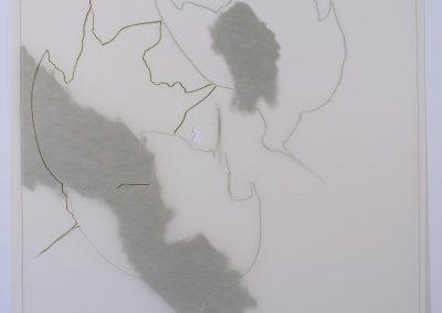 Ame seule, (70), 70x70cm, 2005