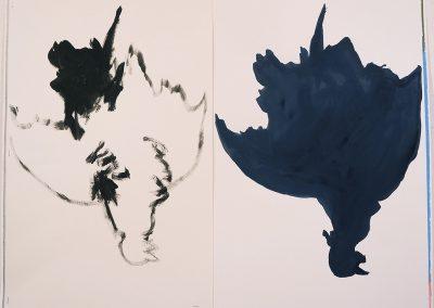 Ombre dessin, (70), 50x70 cm, 2013