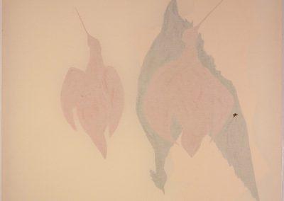 RESSERRE 2005-2008  Peinture acrylique au dos de la toile tendue sur châssis