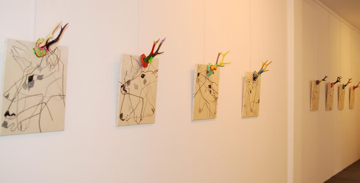 5 : Galerie Brunléglise, PARIS, 2008