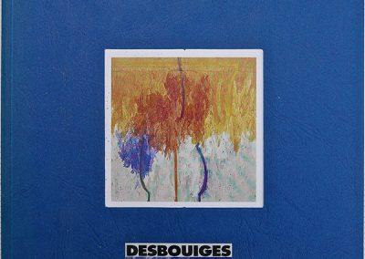 L4 : JOËL DESBOUIGES : Bruno Duborgel, Entretien, François de Villandry, Incandescente orgie, in Albarelli, éditions Galerie Bernard Jordan, Paris, 1994