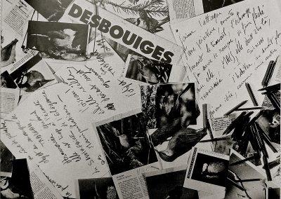 L5 :  DESBOUIGES : Philippe Piguet, Sur la corde de la peinture, éditions galerie à contrario, Limoges 2000