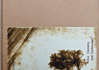 LA13:  Eric Clémens, Après Rembrandt,  Photographies de Joël Desbouiges, Tirage de tête à 14 exemplaires, éditions Galerie BrunLéglise, Paris. 2007