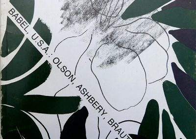 LA3 : Christian Prigent, in TXT N°19, Couverture Joël Desbouiges, in TXT, 1985.