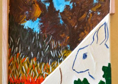 ''Garden Party'', 2018, format 42x32cm