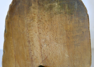 """Farouchement"", pelle, tête de canard, 110cmx45 cm, mai 2018"
