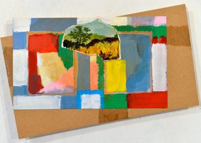'La sagesse des collines'' 2018 , 25x35cm