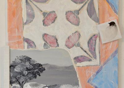 Série : Chemin de traverse, avril-mai 2019, 50x40cm
