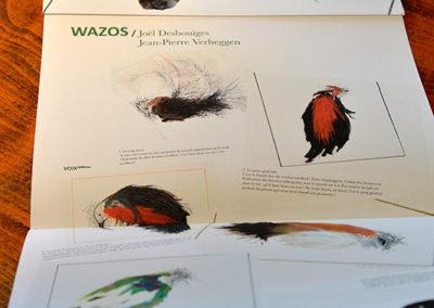 L20 - '' WAZOS '' avec des courts textes de Jean Pierre Verheggen à VOIX éditions, 2018
